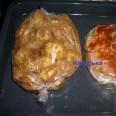 Курочка и картофель в рукаве