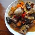 Блюдо  из трактира горбуна Итуло (тушёное сердце)