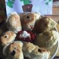 Жареные вареники с картофелем и квашеной капустой
