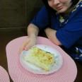 Мини шаурма домашняя с колбасой
