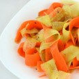 Традиционные салаты. Японский салат из огурца и моркови.