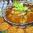 Традиционная кухня Америки. Суп из моллюсков  Clam chowder