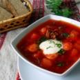 Традиционная кухня Белоруссии. Белорусский борщ.