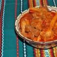 Традиционная кухня Венгрии. Пёркёльт из свинины
