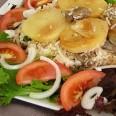 Традиционная кухня Иордании. Перевёрнутая баранина