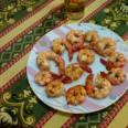 Креветки по-средиземноморски с чесноком