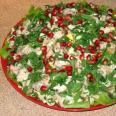 Кавказский свадебный салат
