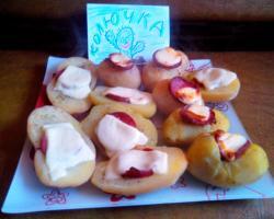 Картошка, запечённая в духовке, на гарнир